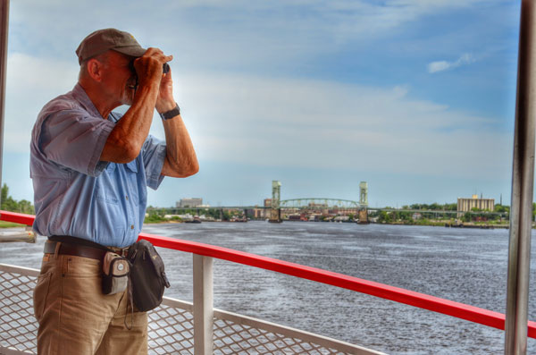 Take Dad for a Father's Day Cruise on the Cape Fear River