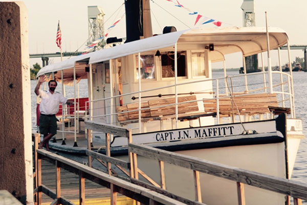 Take Your Wedding Guests on a Cape Fear River Tour