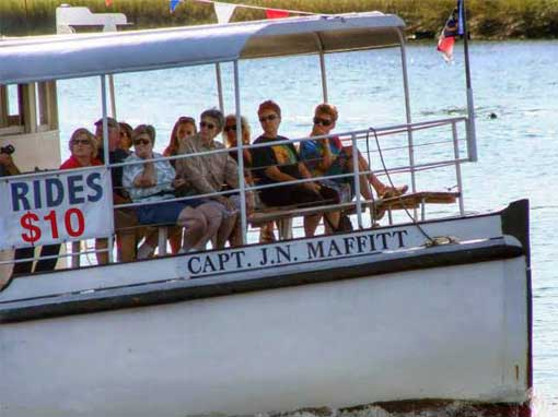 Captain J.N. Maffitt Sightseeing Cruise Boat
